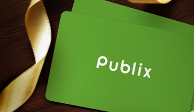 Publix Gift Card for the turkey raffle winner
